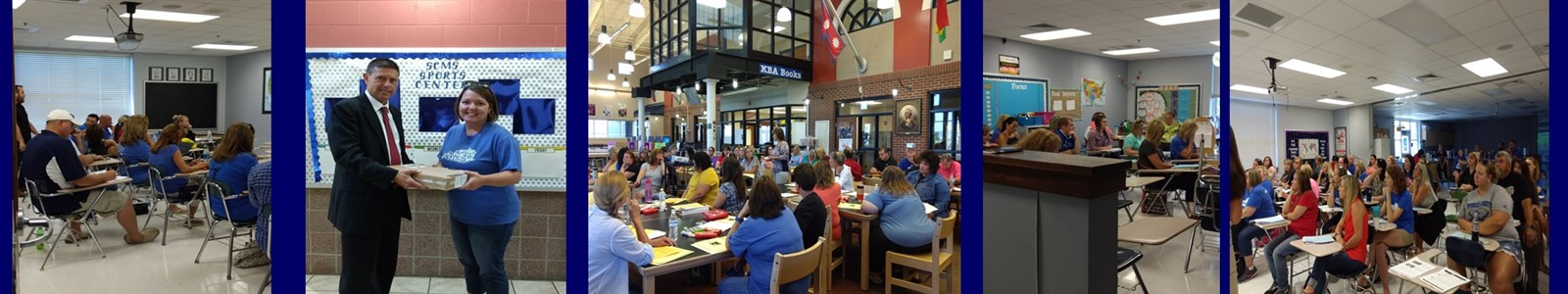 "Teachers Engaging in ""The Learning Summit"""