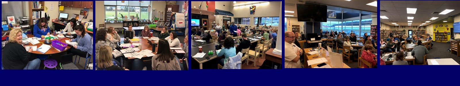 SCPS Teachers/Staff Preparing for Students and Second Semester!