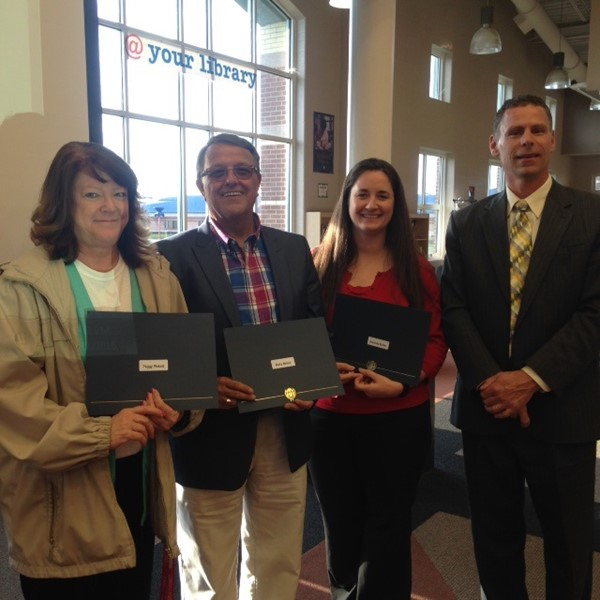 2016 Excellence in Teaching Award Nominees: Ricky Reinle; Peggy Pickett, and Amanda Butler